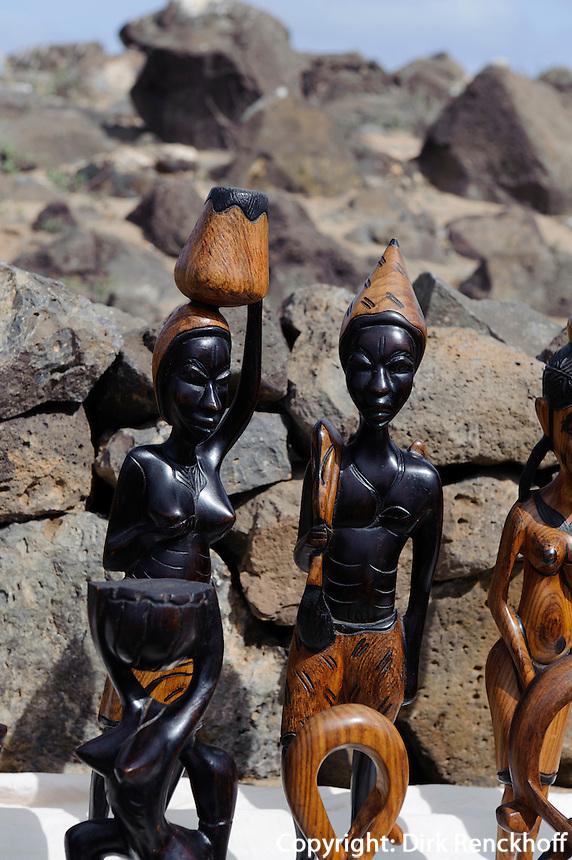 Souvenirverkauf in Buracona, Sal, Kapverden, Afrika