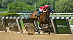 ELMONT, NY - JUNE 09: Abel Tasman  #6, ridden by Mike Smith, wins the Ogden Phipps Stakes on Belmont Stakes Day at Belmont Park on June 9, 2018 in Elmont, New York. (Photo by Eric Patterson/Eclipse Sportswire/Getty Images)