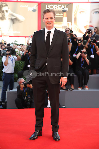 Colin Firth attend the premiere of 'Nocturnal Animals' during the 73rd Venice Film Festival at on September 2, 2016 in Venice, Italy<br /> CAP/GOL<br /> &copy;GOL/Capital Pictures /MediaPunch ***NORTH AND SOUTH AMERICAS ONLY***