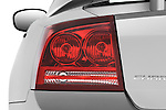 Tail light close up detail view of a 2008 Dodge Charger Dub