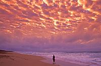 Sunset at Polihali beach on Kauai