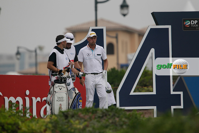 Marcel SIEM (GER) during round 4 of the DP World, Tour Championship, Dubai, UAE.<br /> Picture: Fran Caffrey www.golffile.ie