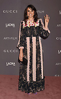 LOS ANGELES, CA - NOVEMBER 04: Actor Mia Maestro attends the 2017 LACMA Art + Film Gala Honoring Mark Bradford and George Lucas presented by Gucci at LACMA on November 4, 2017 in Los Angeles, California.<br /> CAP/ROT/TM<br /> &copy;TM/ROT/Capital Pictures