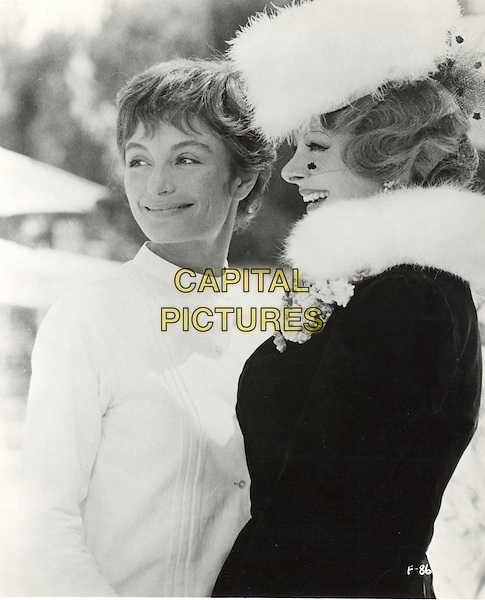 ANOUK AIMEE & SANDRA MILO.in 8 1/2.*Editorial Use Only*.www.capitalpictures.com.sales@capitalpictures.com.Supplied by Capital Pictures.