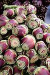 Closeup of artichoke hearts