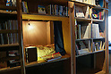 "Sleep in a ""bookshop"" at Book & Bed Designer Hostel in Tokyo"