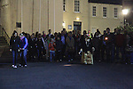 Millmount Ghost Tour of Drogheda..Picture: Shane Maguire / www.newsfile.ie.