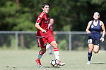 CARY, NC - JUNE 10: CASL player. The North Carolina Courage held a scrimmage against the CASL Red South U16 Boys team on June 10, 2017, at WakeMed Soccer Park Field 7 in Cary, NC.