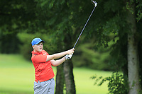 Ronan Shire (Adare Manor) during the Connacht U14 Boys Amateur Open, Ballinasloe Golf Club, Ballinasloe, Galway,  Ireland. 10/07/2019<br /> Picture: Golffile | Fran Caffrey<br /> <br /> <br /> All photo usage must carry mandatory copyright credit (© Golffile | Fran Caffrey)