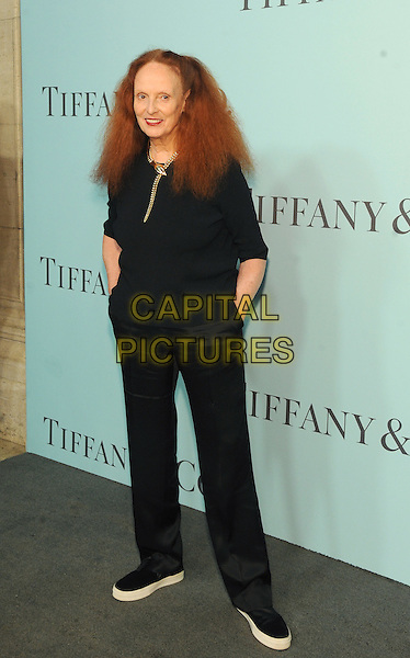 New York, New York- April 15:  Grace Coddington attends the Tiffany &amp; Co 2016 Blue Book event at the Cunard Building on April 15, 2016 in New York City.  <br /> CAP/MPI/STV<br /> &copy;STV/MPI/Capital Pictures