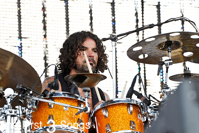 Jay Lane of Primus performs during day 1 of the 2011 Kanrocksas Music Festival at Kansas Speedway in Kansas City, Kansas on August 5, 2011.