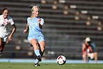 30 August 2013: North Carolina's Caitlin Ball. The University of North Carolina Tar Heels hosted the University of New Mexico Lobos at Fetzer Field in Chapel Hill, NC in a 2013 NCAA Division I Women's Soccer match. UNC won the game 2-1.