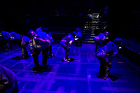 Actors Theatre of Louisville performs ARE YOU THERE?, directed by Artistic Director Robert Barry Fleming and written by Vivian Barnes, Jonathan Norton, and Gab Reisman. This season's Professional Training Company stars in this production.