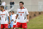 12 November 2008: Maryland's Matt Kassel. The University of Maryland defeated the University of North Carolina 1-0 at Koka Booth Stadium at WakeMed Soccer Park in Cary, NC in a men's ACC tournament quarterfinal game.