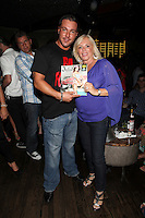 Anthony Cracchiolo and Linda Torres attend Inked Magazine release party celebrating August issue, New York. July 17, 2012 © Diego Corredor/MediaPunch Inc.