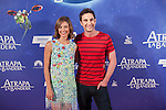 Actress Michelle Jenner and actor Dani Rovira pose during `Atrapa la bandera´ film presentation in Madrid, Spain. August 26, 2015. (ALTERPHOTOS/Victor Blanco)
