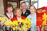 YELLOW: Members of the Listowel Cancer Support Group who are organising Daffodil Day in Listowel. L/r. Mary O'Connor, Mona Ryan, Seamus O'Connor and Maeve O'Brien..