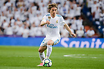 Real Madrid Luka Modric during La Liga match between Real Madrid and Athletic Club at Santiago Bernabeu Stadium in Madrid. April 19, 2017. (ALTERPHOTOS/Borja B.Hojas)