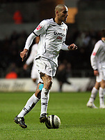 Pictured: Darren Pratley of Swansea City in action <br /> Re: Coca Cola Championship, Swansea City FC v Reading at the Liberty Stadium. Swansea, south Wales, Saturday 17 January 2009<br /> Picture by D Legakis Photography / Athena Picture Agency, Swansea 07815441513