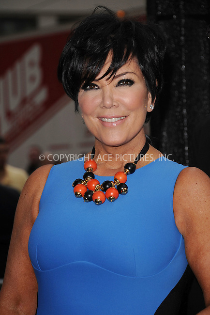 WWW.ACEPIXS.COM . . . . . .April 30, 2012...New York City....Kris Jenner arriving to attend the E! 2012 Upfront at Gotham Hall on April 30, 2012  in New York City ....Please byline: KRISTIN CALLAHAN - ACEPIXS.COM.. . . . . . ..Ace Pictures, Inc: ..tel: (212) 243 8787 or (646) 769 0430..e-mail: info@acepixs.com..web: http://www.acepixs.com .