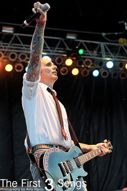 Art Alexakis of Everclear performs during the Beale Street Music Festival in Memphis, TN on April 29, 2011.