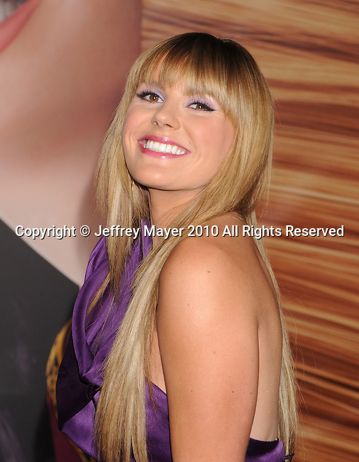 """HOLLYWOOD, CA. - November 14: Grace Potter attends the """"Tangled"""" Los Angeles Premiere at the El Capitan Theatre on November 14, 2010 in Hollywood, California."""