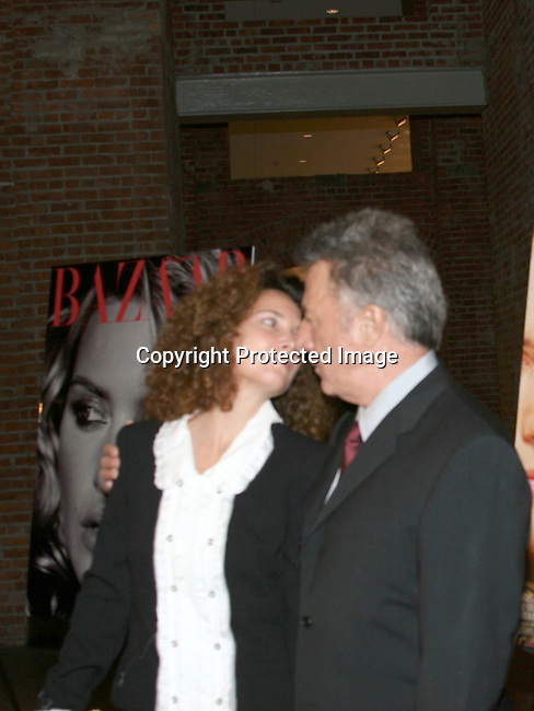 Dustin Hoffman &amp; wife  Lisa Gottsegen <br />