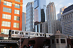 CHICAGO'S ELEVATED TRAINS