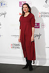 Rosana Pastor attends the `Union de actores Awards´ ceremony in Madrid, Spain. March 14, 2016. (ALTERPHOTOS/Victor Blanco)