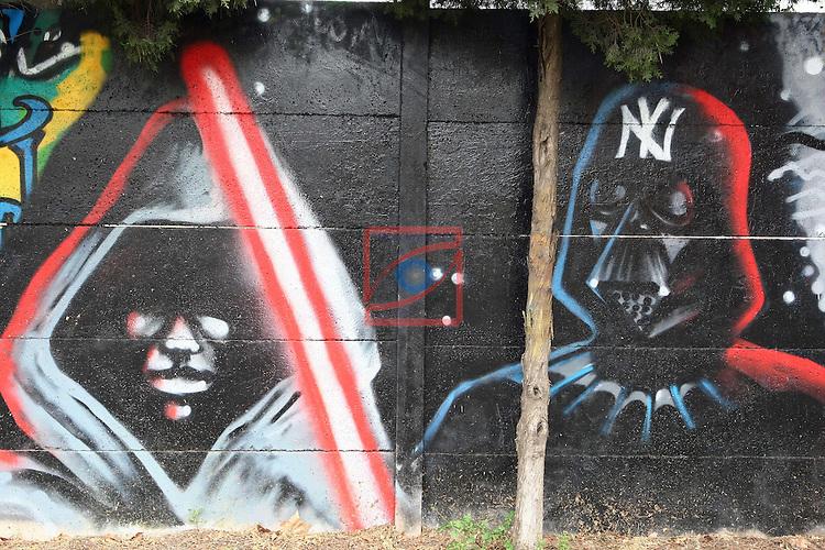 Street Art-Graffittis.<br /> Sabadell Covadonga.