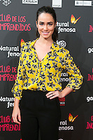 "Alicia Sanz attend the Premiere of the movie ""El club de los incomprendidos"" at callao Cinema in Madrid, Spain. December 1, 2014. (ALTERPHOTOS/Carlos Dafonte) /NortePhoto<br />