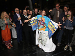 """Jill Abramovitz during the Broadway Opening Night Actors' Equity Legacy Robe Ceremony honoring Jill Abramovitz for """"Beetlejuice"""" at The Wintergarden on April 25, 2019  in New York City."""