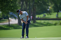 Yuta Ikeda (JAP) watches his putt on 8 during 3rd round of the 100th PGA Championship at Bellerive Country Club, St. Louis, Missouri. 8/11/2018.<br /> Picture: Golffile | Ken Murray<br /> <br /> All photo usage must carry mandatory copyright credit (&copy; Golffile | Ken Murray)