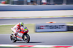 The Rider Cal Crutchlow during the qualifying practice of MotoGP Grand Prix of Catalunya. 06/14/2014. Samuel Roman/Photocall3000