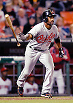 18 May 2007: Baltimore Orioles center fielder Corey Patterson in action against the Washington Nationals at RFK Stadium in Washington, DC. The Orioles defeated the Nationals 5-4 in the first game of the 3-game interleague series...Mandatory Photo Credit: Ed Wolfstein Photo