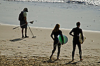 Surfers on the Beach in San Clemente California