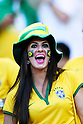 Brazil fans,<br /> JUNE 28, 2014 - Football / Soccer :<br /> FIFA World Cup Brazil 2014 Round of 16 match between Brazil 1(3-2)1 Chile at Estadio Mineirao in Belo Horizonte, Brazil. (Photo by D.Nakashima/AFLO)