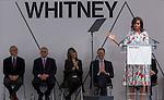 2015 04 30 Whitney Dedication Ceremony
