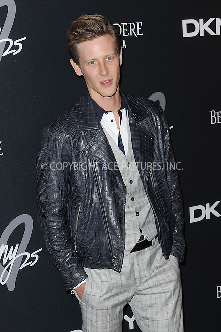 WWW.ACEPIXS.COM<br /> September 9, 2013 New York City<br /> <br /> Gabriel Mann seen at the DKNY 25 Birthday Bash on September 9, 2013 in New York City.  <br /> <br /> By Line: Kristin Callahan/ACE Pictures<br /> ACE Pictures, Inc.<br /> tel: 646 769 0430<br /> Email: info@acepixs.com<br /> www.acepixs.com<br /> Copyright:<br /> Kristin Callahan/ACE Pictures