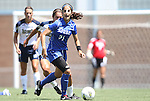28 August 2011: Duke's Gilda Doria. The Duke University Blue Devils defeated the Fighting Irish of Notre Dame 3-1 at Fetzer Field in Chapel Hill, North Carolina in an NCAA Women's Soccer game.