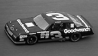 Dale Earnhardt #3 Chevrolet Daytona 500 at Daytona International Speedway in Daytona Beach, FL on February 14, 1988. (Photo by Brian Cleary/www.bcpix.com)