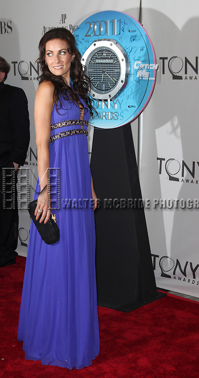 Laura Benanti<br /> attending The 65th Annual Tony Awards in New York City.
