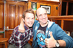 Darren Bohill and Kevin O'Connor at the Xfactor Party in McPhails...(Photo credit should read Jenny Matthews www.newsfile.ie)....This Picture has been sent you under the condtions enclosed by:.Newsfile Ltd..The Studio,.Millmount Abbey,.Drogheda,.Co Meath..Ireland..Tel: +353(0)41-9871240.Fax: +353(0)41-9871260.GSM: +353(0)86-2500958.email: pictures@newsfile.ie.www.newsfile.ie.