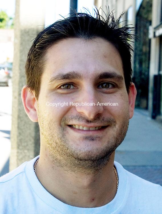 TORRINGTON CT. 04 September 2013-090413SV08-Josh Golfin, 35, of New Hartford.<br /> Steven Valenti Republican-American