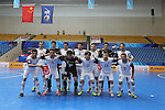 Nagoya Oceans vs Dabiri Tabriz during the 2014 AFC Futsal Club Championship Group Semi-finals match on August 29, 2014 at the Shuangliu Sports Centre in Chengdu, China. Photo by World Sport Group