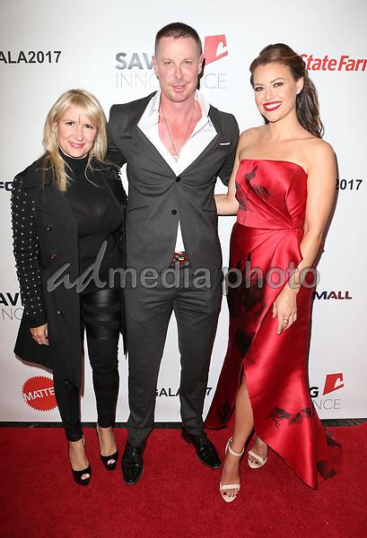30 September 2017 - Los Angeles, California - Phoenix Stone, Kim Biddle. 6th Annual Saving Innocence Gala held at Loews Hollywood Hotel. Photo Credit: F. Sadou/AdMedia