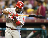 Rollins, Jimmy 6102.jpg Philadelphia Phillies at Houston Astros. Major League Baseball. September 7th, 2009 at Minute Maid Park in Houston, Texas. Photo by Andrew Woolley.