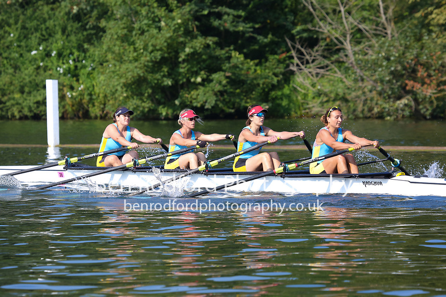 Race: 218  W.MasB.4x-  Semi-Final<br /> 248  Cambridge 99 Rowing Club<br /> 249  Eton Excelsior Rowing Club<br /> <br /> Henley Masters Regatta 2018 - Saturday<br /> <br /> To purchase this photo, or to see pricing information for Prints and Downloads, click the blue 'Add to Cart' button at the top-right of the page.