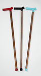 Chatfield Walking Cane, 2012. Designed by Matthew Kroeker, manufactured by Top & Derby. American walnut, aluminum, silicone, thermoplastic rubber. Gift of Top & Derby Limited. Photo: Matt Flynn © Smithsonian Institution
