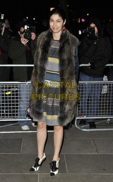 LONDON, ENGLAND - FEBRUARY 03: Caroline Issa attends the David Bailey: Bailey's Stardust VIP private view, National Portrait Gallery, St Martin's Place, on Monday February 03, 2014 in London, England, UK.<br /> CAP/CAN<br /> &copy;Can Nguyen/Capital Pictures